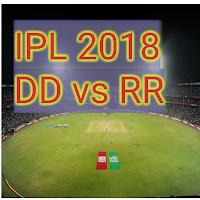 Cricket Live score IPL 2018 DD vs RR
