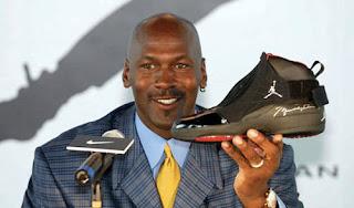Kontrak Kerja Nike Dengan Pebasket terkenal Michael Jordan