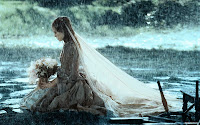 Image result for weeping girl with flowers