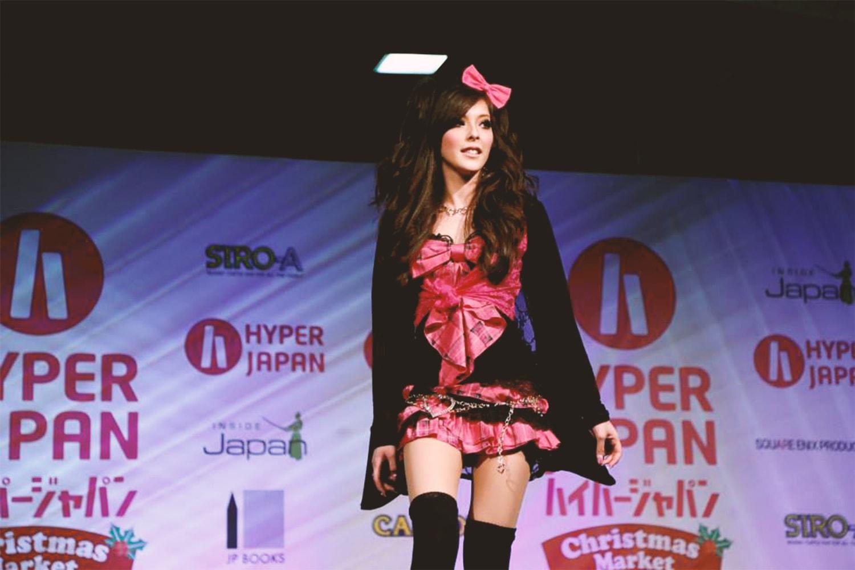 agejo gyaru on the catwalk, hyper japan 2014