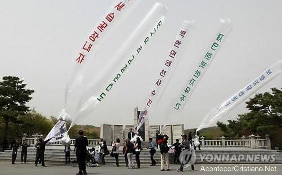 Misioneros envían Biblias y folletos a Corea del Norte