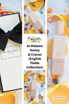 Jo Malone: Honey & Crocus (English Fields Collection) UK Launch, poppy & barley,
