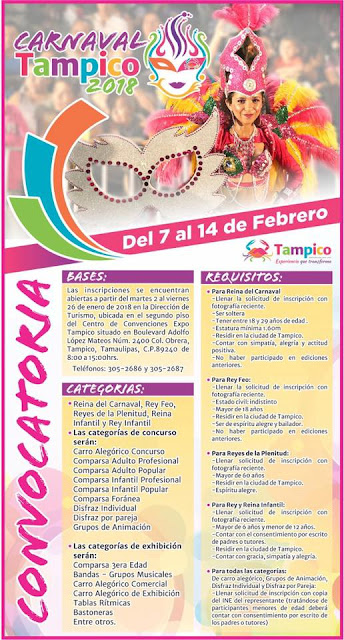 carnaval tampico 2018
