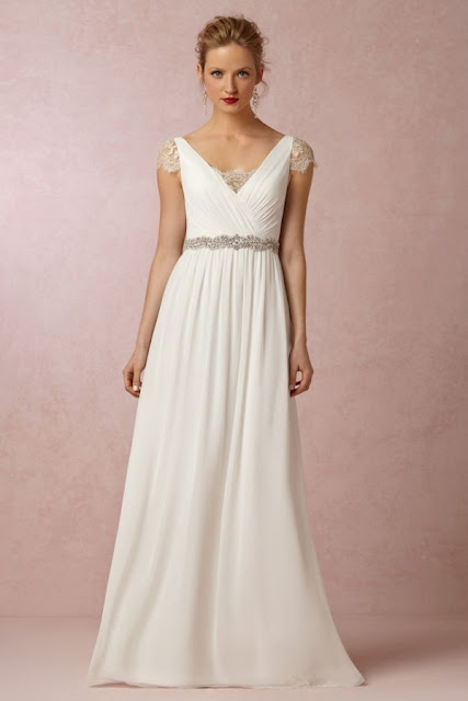 K'Mich Weddings - wedding dress - sheath wedding dress -BHLDN