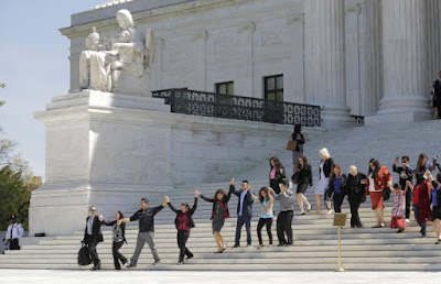 Migration redesign supporters sing, move, serenade at U.S. Incomparable Court