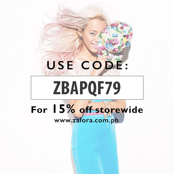 Get 15% Discount Coupon Code at Zalora