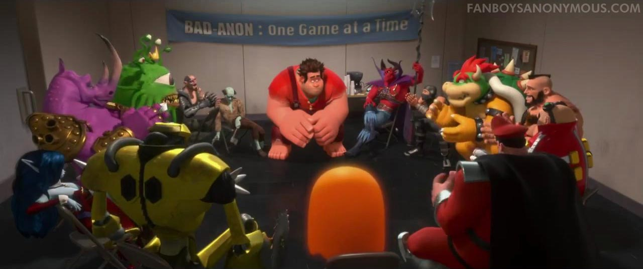 Wreck It Ralph Movie Review Fanboys Anonymous