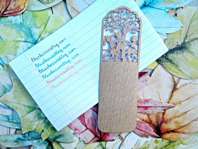 Born Pretty Store Wood Book Marker