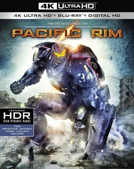 Pacific Rim 4K (Titanes del Pacífico 4K) (2013) 2160p 4K UltraHD HDR BluRay REMUX 66GB mkv Dual Audio Dolby TrueHD ATMOS 7.1 ch