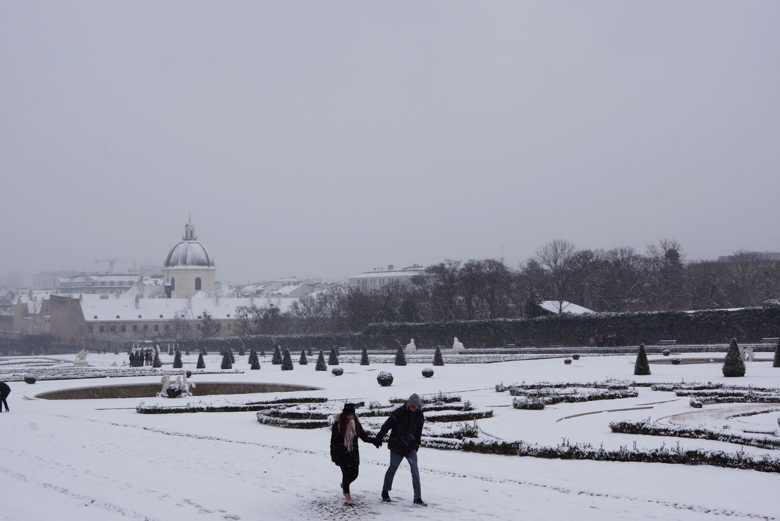 zimowy wiedeń
