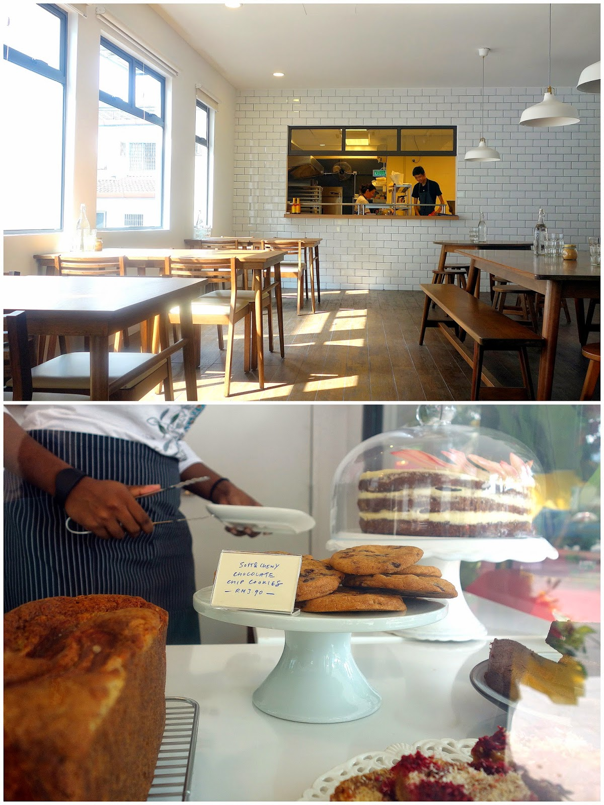the kitchen table restaurant bakery kitchen table restaurant The Kitchen Table stands out with its clean bright white facade interior plus its handsome wooden furnishing simple but strikingly fitting