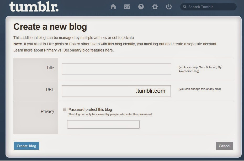 How to Design my Tumblr Account