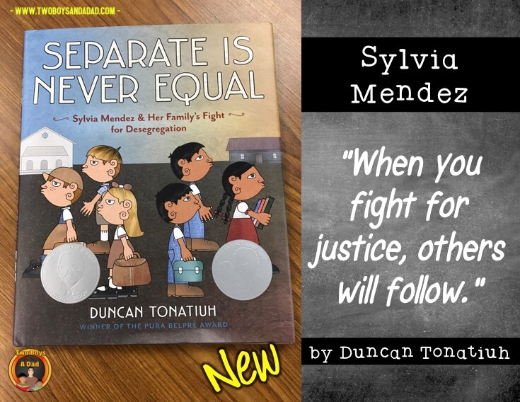 Separate is Never Equal new children's literature book