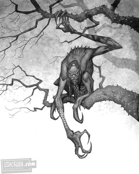 Mahluk-Mahluk Mitologi Dunia yang Di Gambar Ulang Berdasarkan Kesaksian