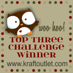 9/10/13 Top 3 Challenge Winner at The Kraft Journal!