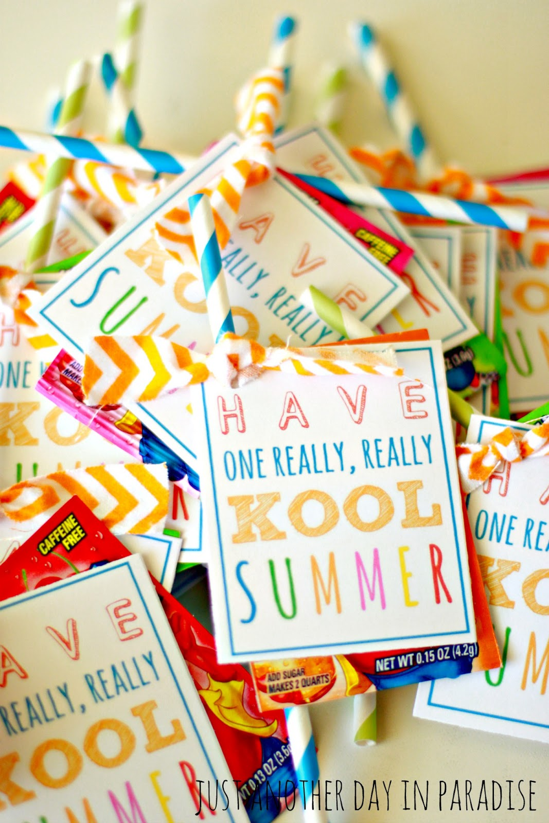 image about Have a Kool Summer Printable identified as Larissa A further Working day: Comprise a \