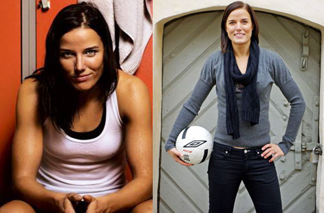 Sexy Women Footballers - Jessica Landström