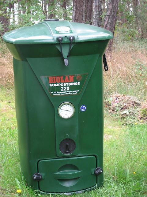 Kompostbinge til matavfall