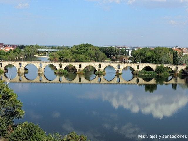 Puente de piedra, Zamora, Castilla y León