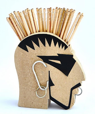 Rockstar Toothpick Holder