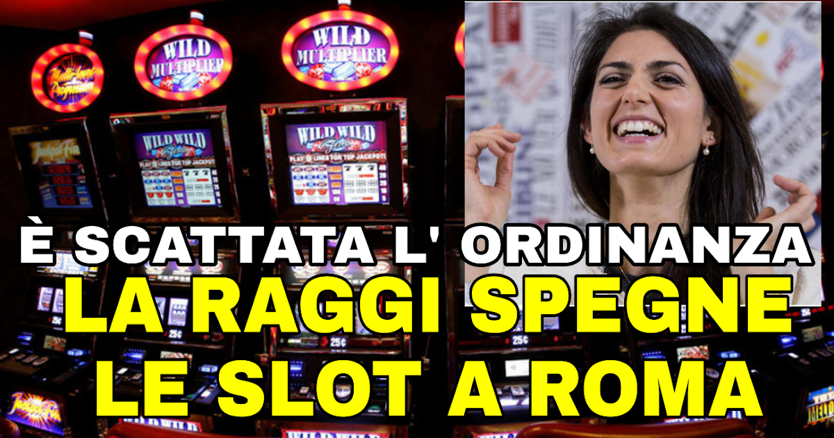 Ordinanza slot machine roma