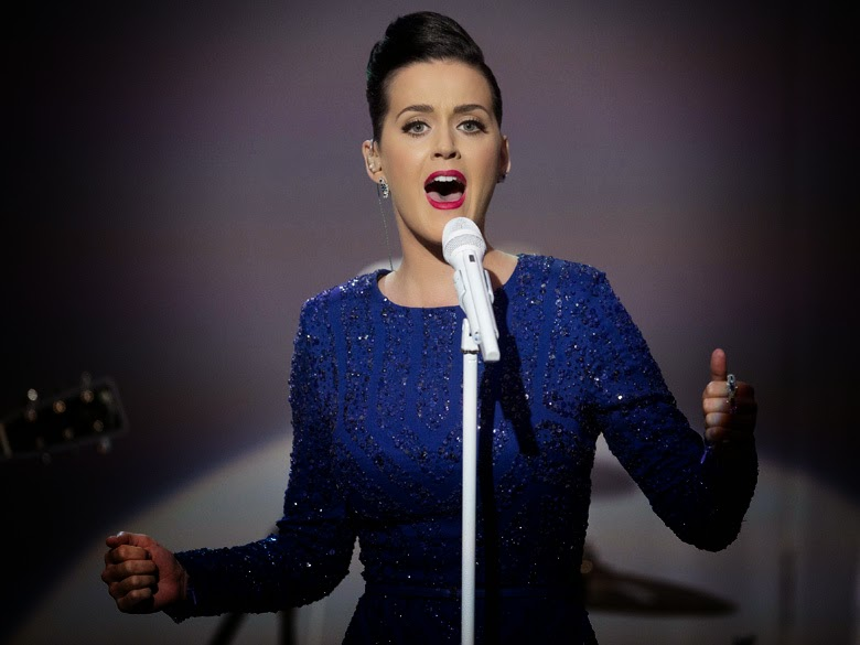 Katy Perry Is Gearing Up For The Super Bowl