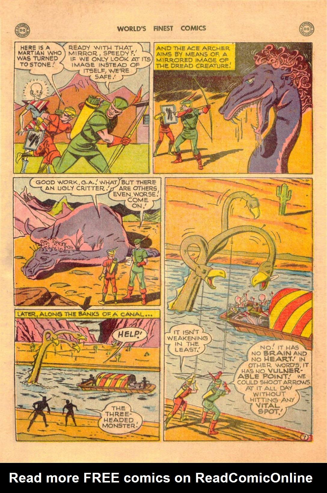 Read online World's Finest Comics comic -  Issue #42 - 23