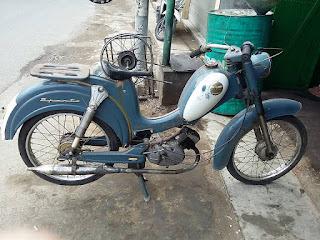 Jual Motor Antik : Moped SPARTA 50cc -SIDOARJO