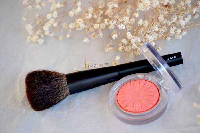 Cheek_Blush_Clinique_Pop_Peach_ObeBlog_RMK_blush_Brush_01