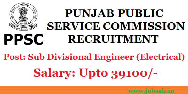 PPSC Notification, PPSC Exam, Electrical Engineering jobs