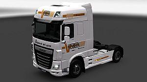 Visbeen Transport skin for DAF Euro 6