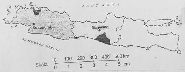 Gambar Skala garis peta