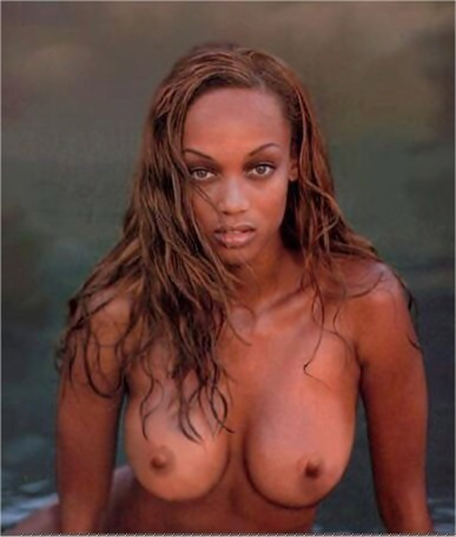 Tyra banks boobs