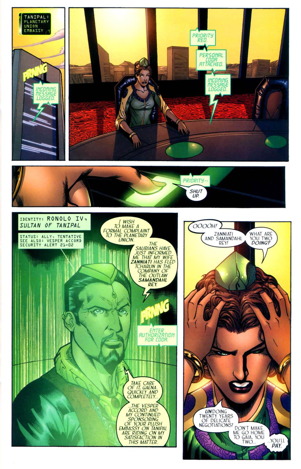 Read online Sigil (2000) comic -  Issue #8 - 10