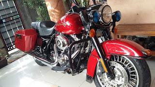Info Moge Bekas : Dijual HD Roadking 250 Jeti Gais - JAKARTA