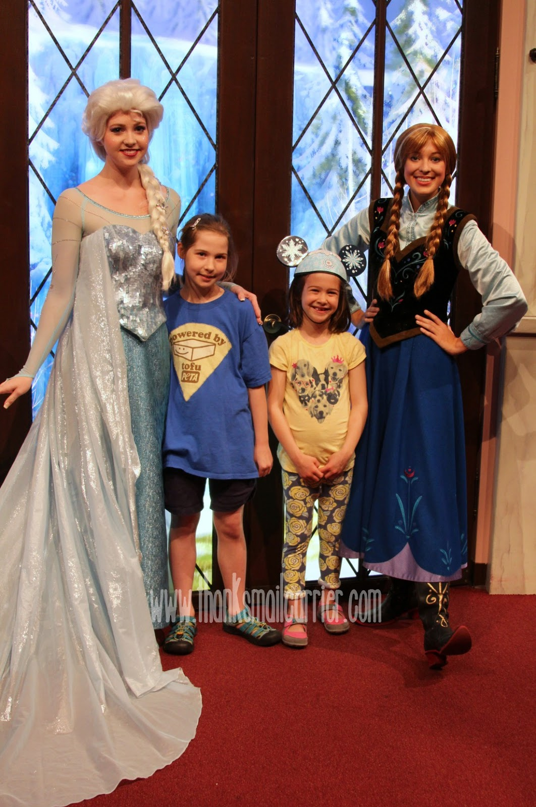 Disneyland Elsa and Anna