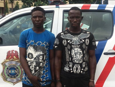 Thieves arrested in Lagos after stolen phones rang in police presence