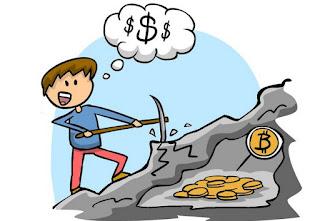 Minare Bitcoin di nascosto
