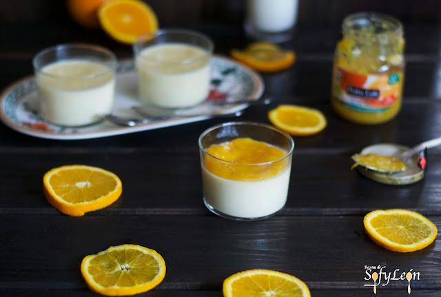 Panacotta de naranja