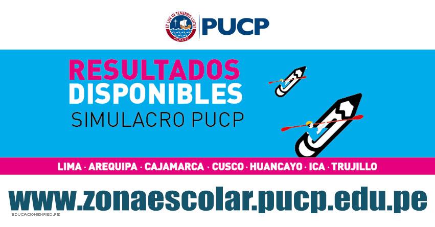 Resultados PUCP 2018 (29 Abril) Zona Escolar - Simulacro Examen Admisión - Pontificia Universidad Católica del Perú - www.pucp.edu.pe