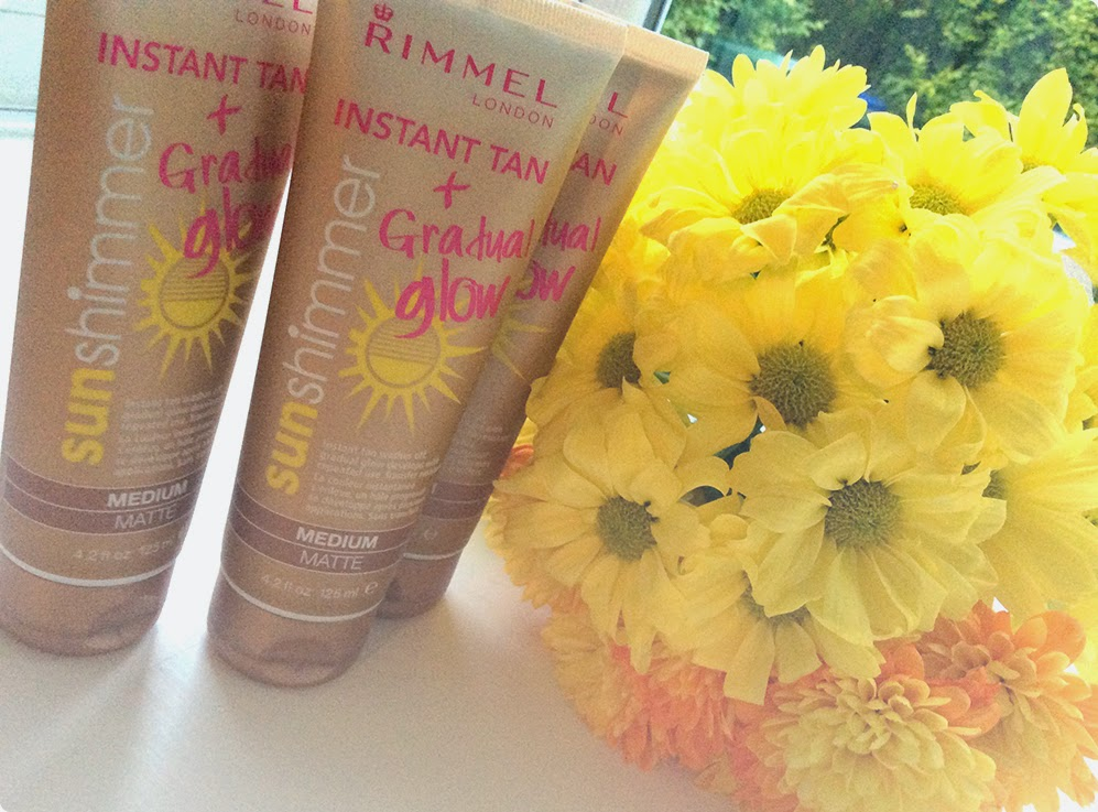 Rimmel sun shimmer instant tan and gradual glow