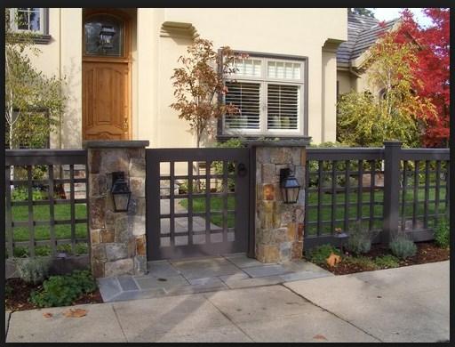Model pagar rumah minimalis besi