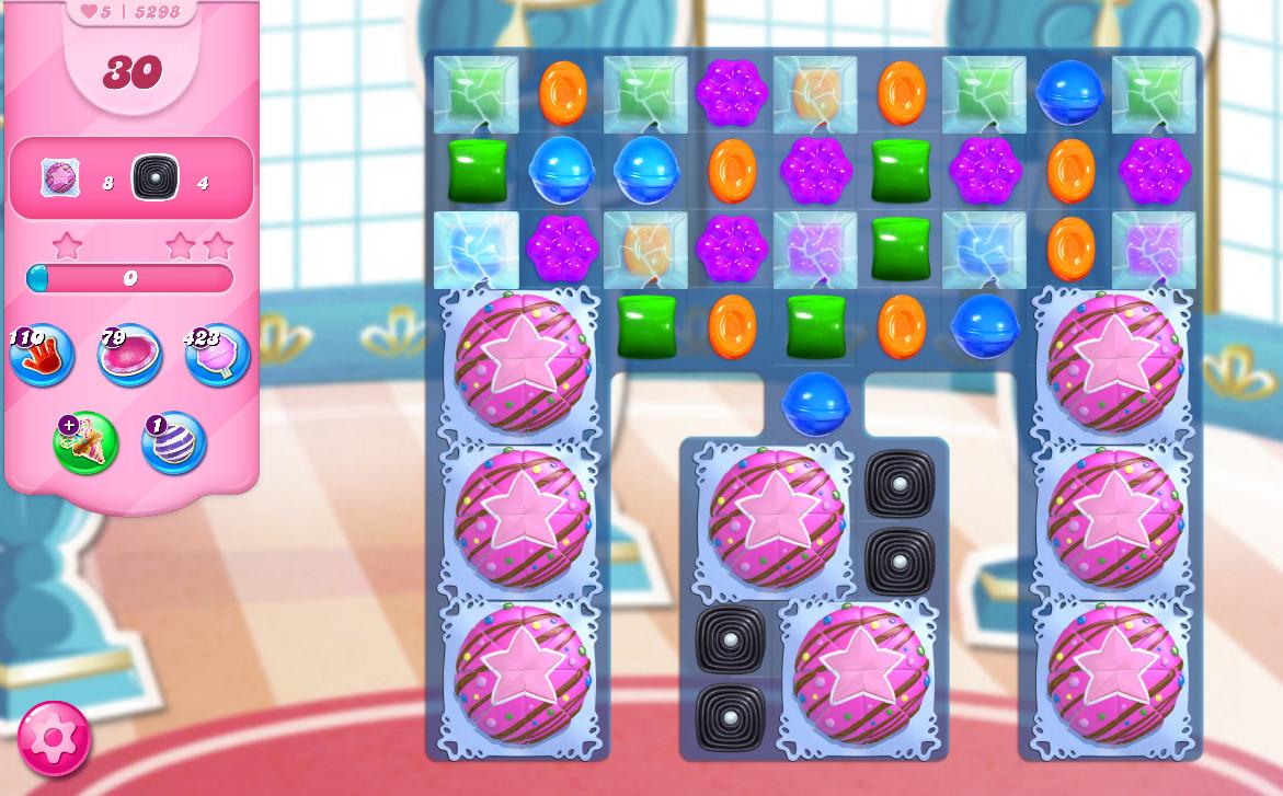 Candy Crush Saga level 5298
