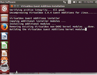 Virutal Box - Guest OS - Installing Tools