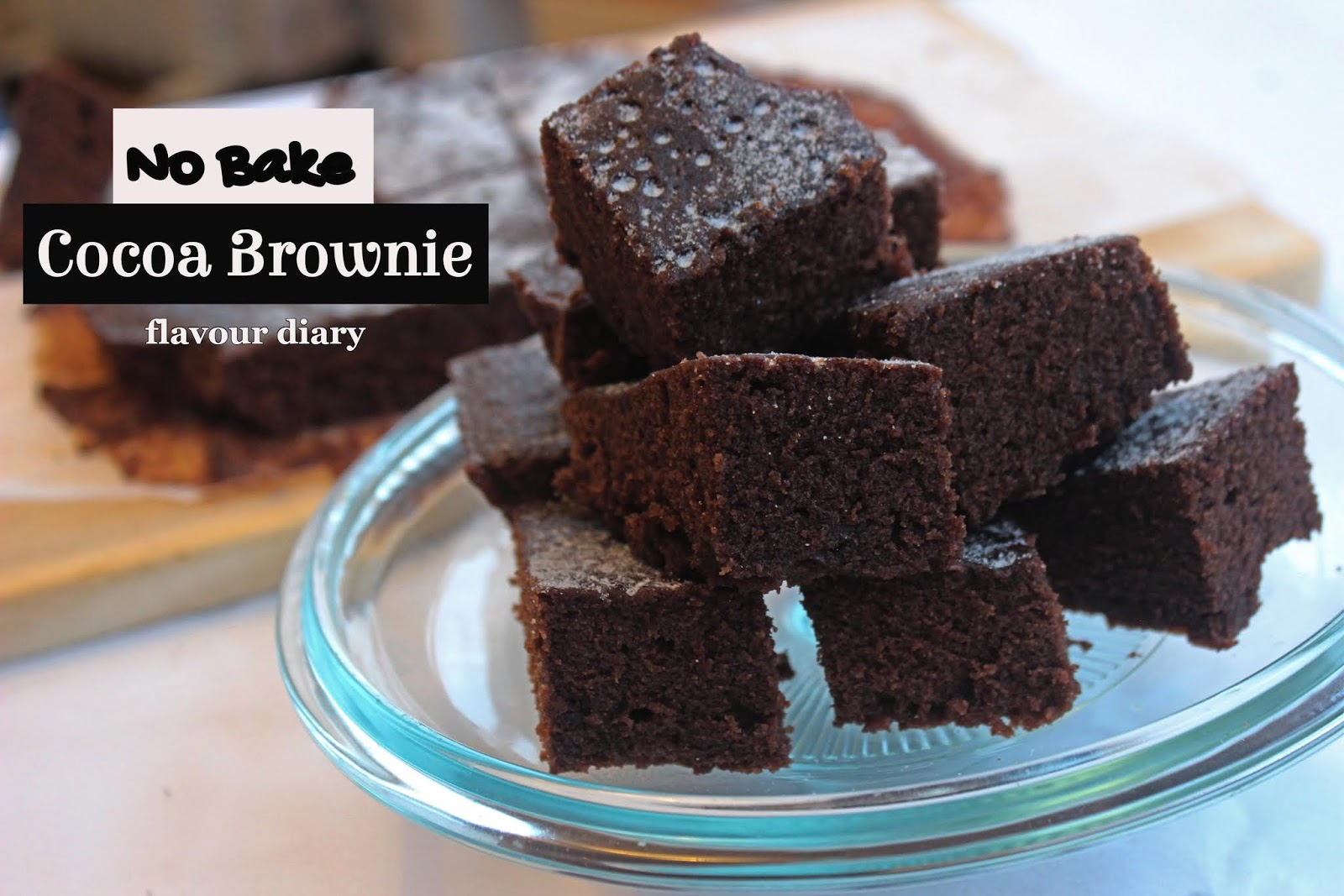 Cocoa Brownie No Bake