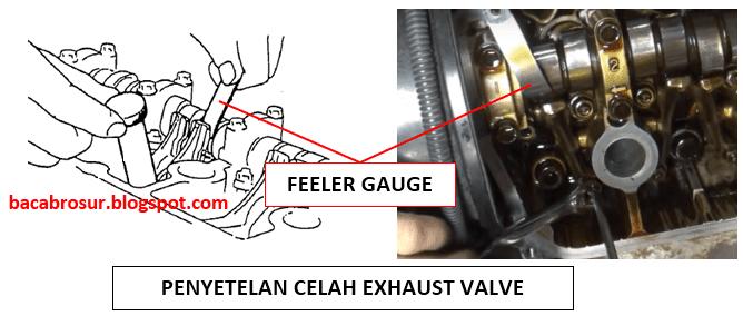Penyetelan klep pada mesin mobil berfungsi untuk mengoptimalkan kembali performa mesin den Cara setel klep mobil suzuki carry  1.5