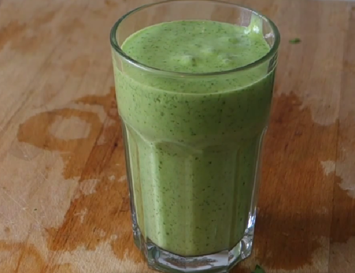 The drink – green smoothie – greatest drink ever