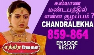 Chandralekha | Sun TV | Week 32 | Recap of Episode 859 to 864