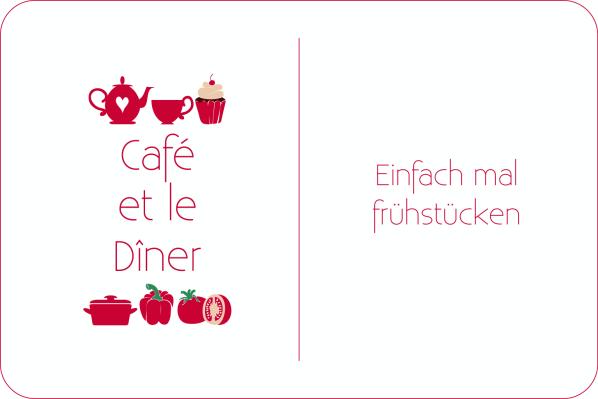 Café et le Dîner, Bananenbrot, Bärlauch-Frischkäse, Joghurtbecher, Beeren, Frühstück, Frühstückstisch, Ananas-Häppchen