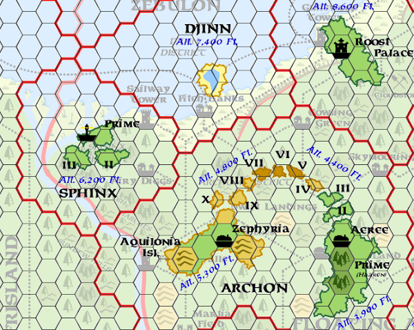 Mystara Alphatia Ar Sphinx Hex Map